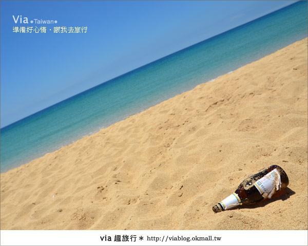 【澎湖沙灘】山水沙灘,遇到菊島的夢幻海灘!18
