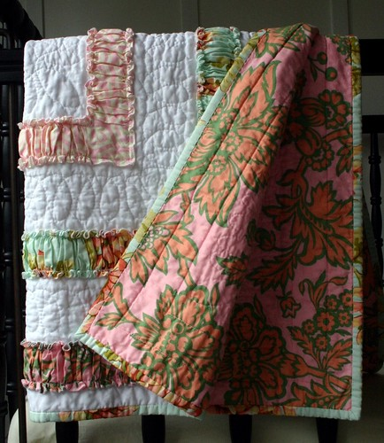 Ruffle Quilt - backing
