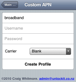 iPhone-create-profile