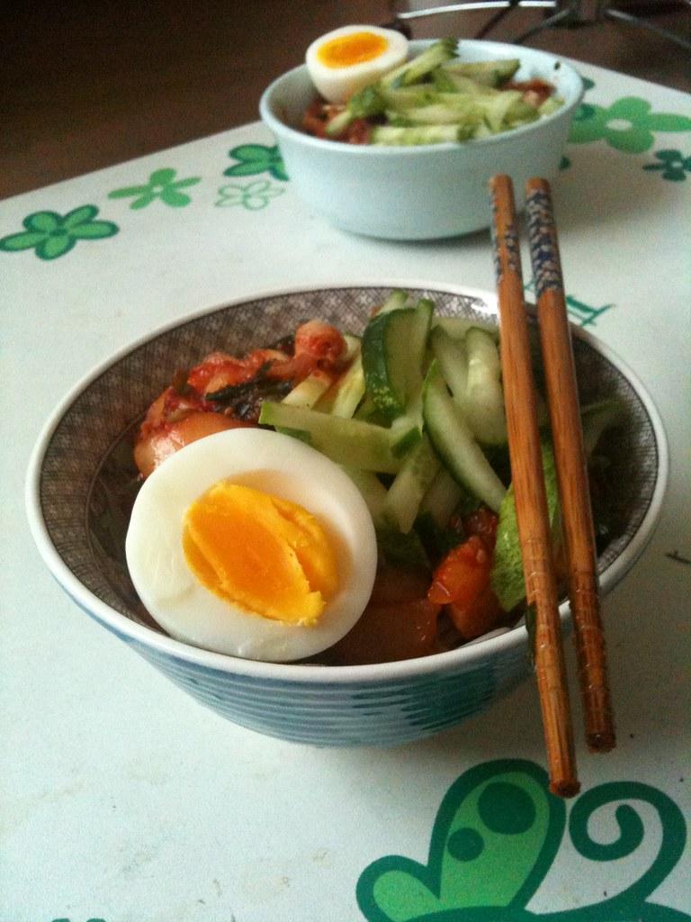 즉석 셀프 비빔면 만들기 - 완성 (5)