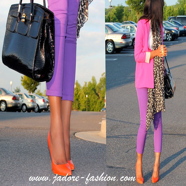 Fuschia & Purple by Jadore-fashion