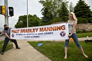 Anti-Torture Vigil - Week 50: Free Bradley Manning