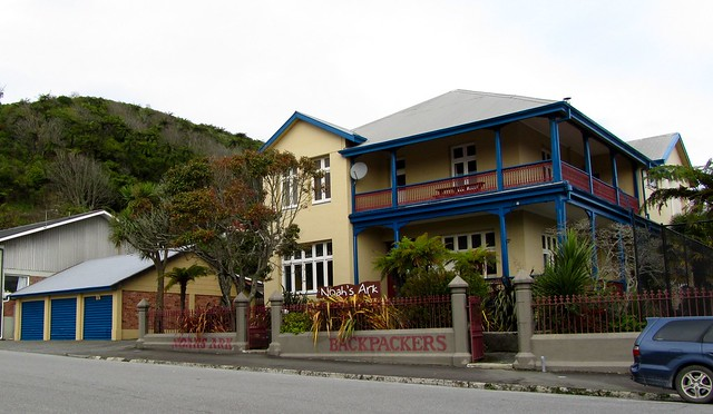 Noah's Ark Backpackers, Greymouth, New Zealand