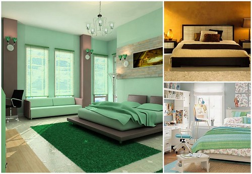 Особенности интерьера современной спальни, фото спальни