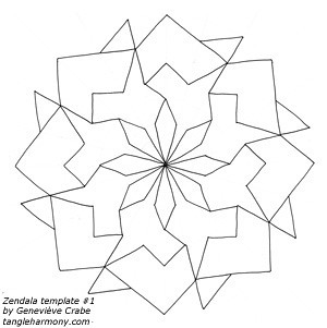 Zendala template #1