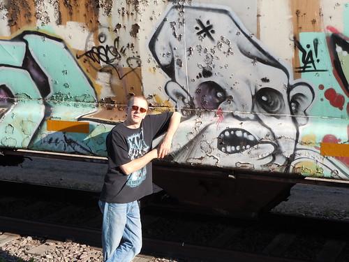 06-11-11 Rail Car Graffiti @ Renville, MN03.1