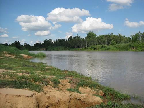 Jii River @ Yasothon, Thailand