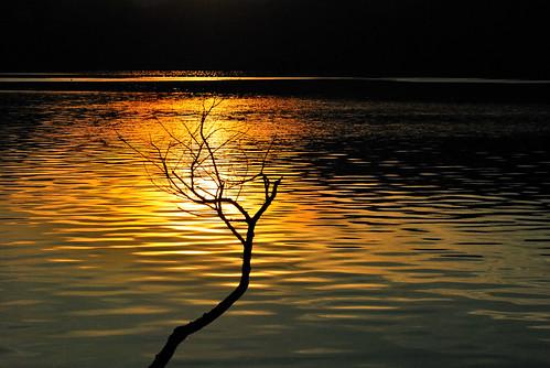 日月潭-出水口