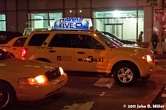 Hawaii Five-O (jmillerdp) Tags: street city nyc newyorkcity urban ny newyork color night digital ads advertising tv downtown exterior kodak manhattan cab taxi ad billboard advertisement midtown timessquare hawaiifiveo dc280