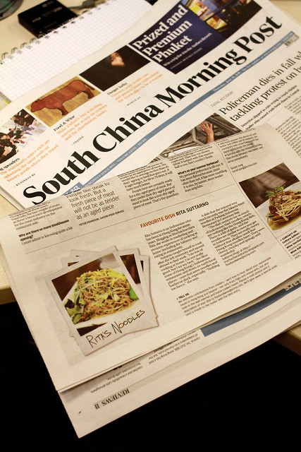I'm on South China Morning Post today. Yeah!