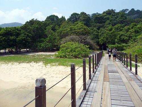 Pantai Kerachut - jetty