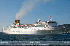 Costa Marina (Tom McNikon) Tags: cruise costa norway cruiseship bergen costamarina costacruises
