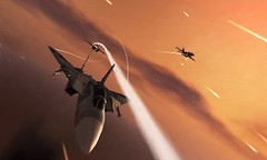 Ace Combat 3D - Near miss