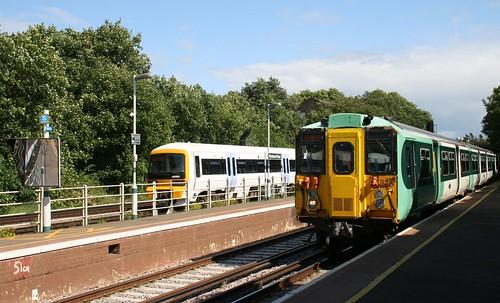 The Parliamentary Train Arrives