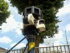 Google Street View Car 3D Cameras