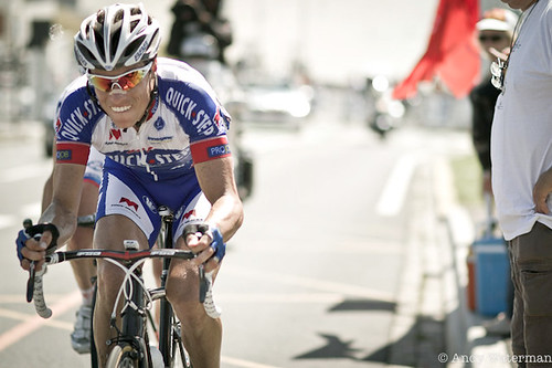 Chavanel — false teeth? Or just a dentist's dream?
