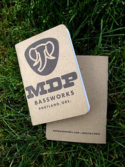 Make Your Own: MDP Bassworks (scoutbooks) Tags: notebook book graphicdesign creative sketchbook portlandoregon printmedia sustainable recycledpaper pantone chipboard makeyourown offsetprinting soyink greendesign creativedesign pinballpublishing saddlestitch pocketnotebook greenprinting scoutbook ecofriendlyprinting pocketperfect offsetprintshop printingmadefun printitem spotcolorprinting custompocketnotebook sustainableprinting pantonesoyinks perfectpocketnotebook