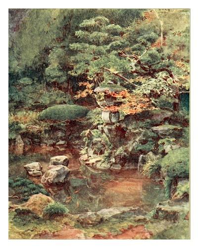 014-Jardin en Ashinoyu-Japanese gardens 1912-Walter Tyndale