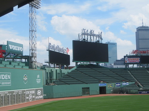 The Green Monster on the left