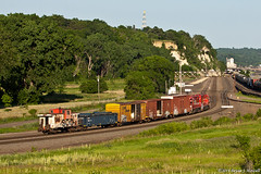 Just Like Old Times (tubaman21) Tags: stpaul caboose soo gp382 divisionst cptransfer