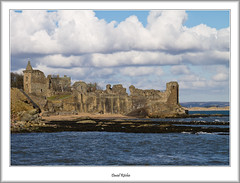 St. Andrew's Castle in Spring (flatfoot471) Tags: urban holiday castle landscape coast scotland spring fife standrews