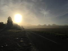 Autumn mist (DH73.) Tags: boughton green northampton moulton iphone snap sunrise