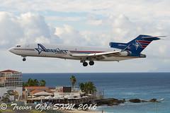DSC_6154Pwm (T.O. Images) Tags: n495aj amerijet boeing 727 sxm st maarten princess juliana airport
