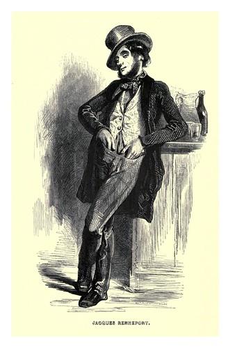 016-Jacques Rennepornt-Le juif errant 1845- Eugene Sue-ilustraciones de Paul Gavarni