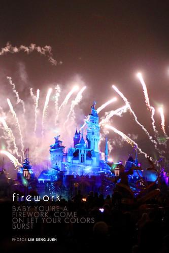 firework - Disneyland