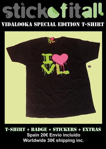 Stick Of It All Vol.2 Vidalooka special Edition T-Shirt LAST 2 by Vidalooka