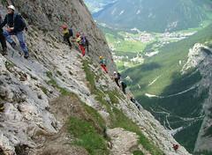 Ferrate: Tridentina (Loriano.) Tags: vertical trekking natura adventure cielo sentiero paesaggi montagna tridentina escursione ferrate