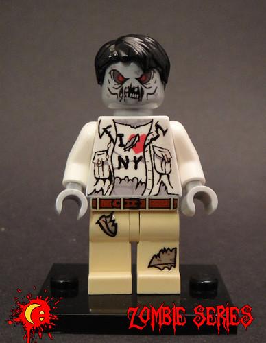 Custom minifig Zombie Tourist