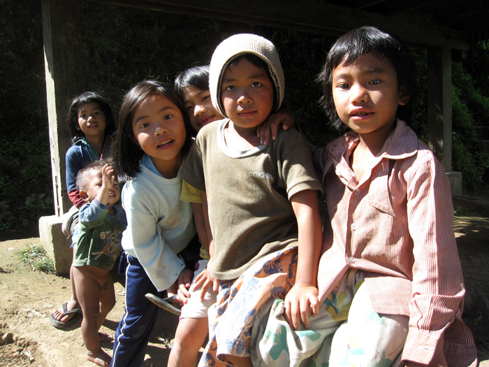 Kids in Mayoyao, Philippines