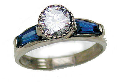 Original Design Engagement Ring by Ricco