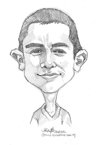 caricature in pencil - 10