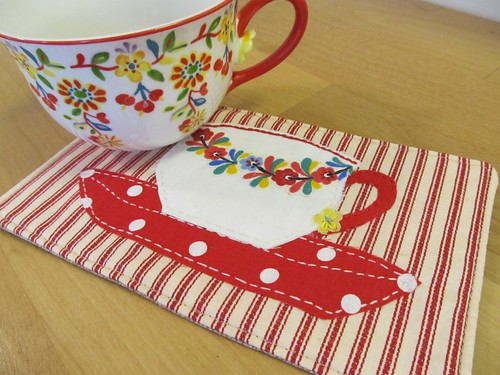 Mug Rug {time for tea}