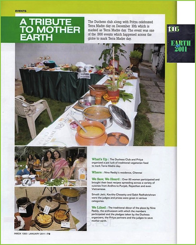 Tribute to Mother Earth with Slow Food