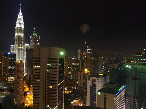 Night Petronas Twin Towers