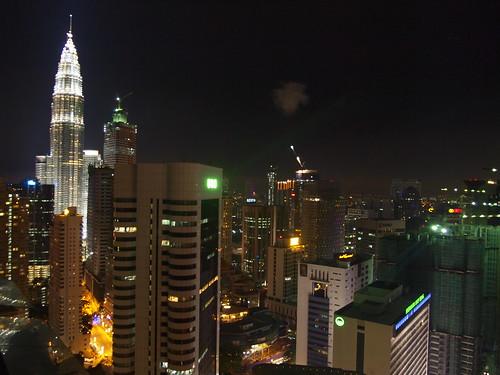 Night Petronas Twin Towers