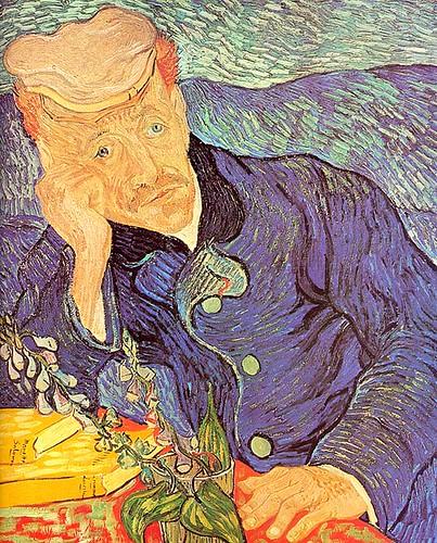 Retrato del doctor Gachet-Vincent Van Gogh