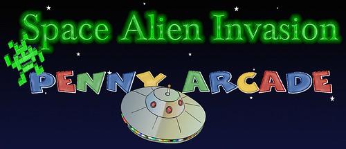 space Alien invasion