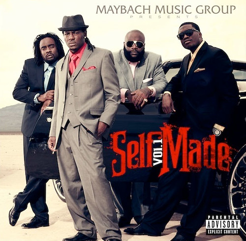 rick ross self made album cover. maybach-music-self-made-album-