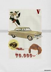 Poster 70.000 Views. ({Bruno Martins}) Tags: collage illustration vintage poster design graphicdesign digitalart brunomartins