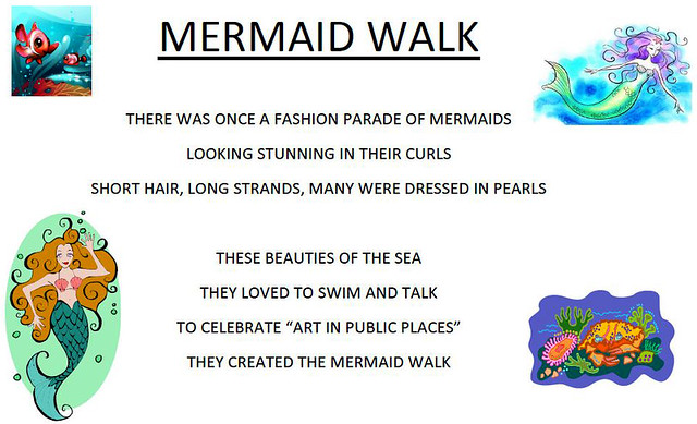 Mermaid Walk Poem
