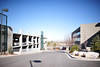 Soon Obstructed (nateOne) Tags: sky 35mm iso200 parkinglot parkinggarage officebuilding schnivic officepark 35mmf14 nikond700 18000secatf14 focusdistance∞