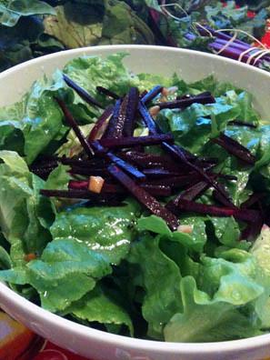 Romaine & Beet salad