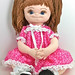 Organic Doll, Eco Friendly, Vegan, Soft Sculpture, Cloth Dolls, Comfort Kids Dainty Dolly oefdd1