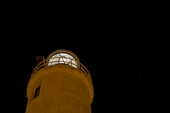 Nel mare della vita (scarpace87) Tags: light sky lighthouse night dark stars faro nikon cielo notte luce buio stelle 105mmf28 d7000