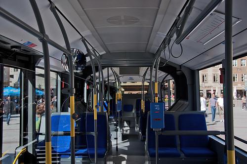 Innenraum des Wagen 5400