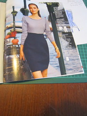 Skirt from Burda 02-2011-107